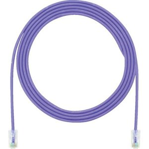 あすつく対応 パンドウイットコーポレーション パンドウイット UTP28CH15MVL カテゴリ5E細径パッチコード 15m 紫|edenki