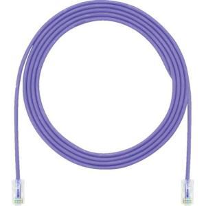 あすつく対応 パンドウイットコーポレーション パンドウイット UTP28CH5MVL カテゴリ5E細径パッチコード 5m 紫|edenki