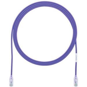 あすつく対応 パンドウイットコーポレーション パンドウイット UTP28SP3MVL カテゴリ6細径パッチコード 3m 紫|edenki