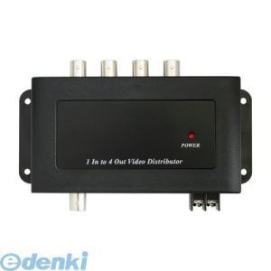 【個数:1個】NSE802 直送 代引不可・他メーカー同梱不可 映像分配器(4分配)|edenki