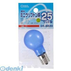 オーム電機  04-6620 昼光ミニクリプトン球PS35 E17 25W型フロスト 046620|edenki