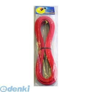 オーム電機  04-7403 スピーカーコード 1.25mm2 10m 赤黒 047403|edenki