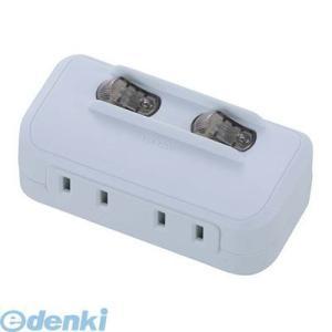 オーム電機  00-1758 個別スイッチ付 節電タップ 2個口 001758|edenki