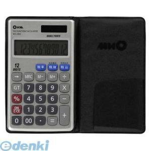 オーム電機  07-7983 2電源 税計算機能付 電卓 KCL-002 077983 edenki