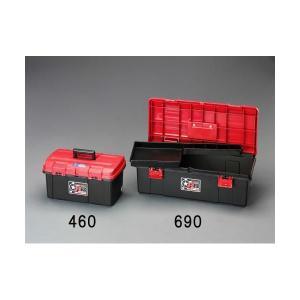 [EA505KA-460] 460x265x233mm 工具箱(中皿付) EA505KA460【キャンセル不可】 edenki