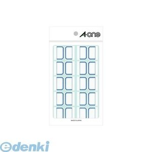A-one エーワン 04004 セルフインデックス 大 青 10面 edenki