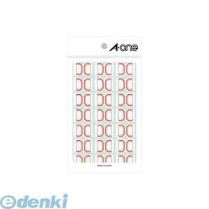 A-one エーワン 04007 セルフインデックス 小 赤 21面 edenki