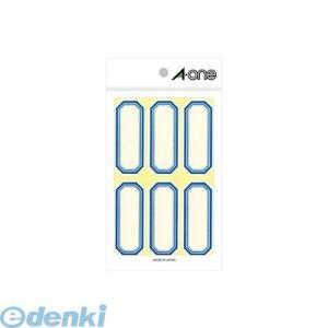 A-one(エーワン) [05002] セルフ角ペーパー 小 青 6面 4906186050029 edenki