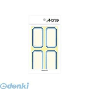 A-one(エーワン) [05005] セルフ角ペーパー 中 青 4面 4906186050050 edenki