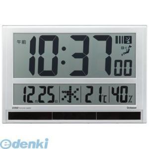 キングジム KING JIM GDD-001 ハイブリッドデジタル電波時計|edenki