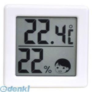 ドリテック(DRETEC)  O-257WT デジタル温湿度計(ホワイト) O257WT|edenki