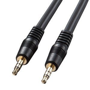 サンワサプライ  KM-A2-36K2 オーディオケーブル KMA236K2 edenki