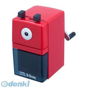 カール事務器  CS-108-R             ハイストロング 鉛筆削器 赤【1個】 CS108R|edenki