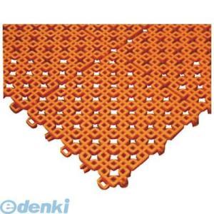 ミヅシマ工業 4200090 チェックチェッカー 150X150mm オレンジ