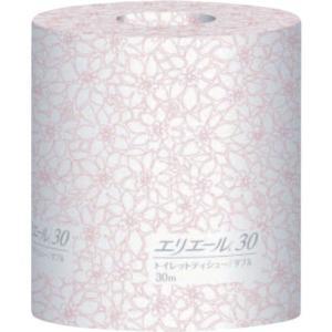 あすつく対応 エリエールビジネスサポート  723084 トイレットティシューダブル30m個包装|edenki