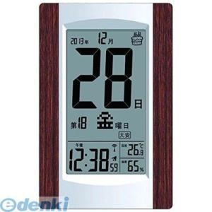 ADESSO アデッソ KW9256 デジタル日めくり電波時計|edenki