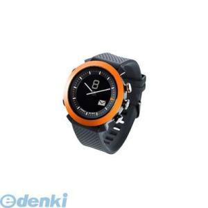 CONNECTEDEVICE  4562187616192 Bluetooth SMART対応アナログ腕時計 COGITO CLASSIC シリコンバンド オレンジ|edenki