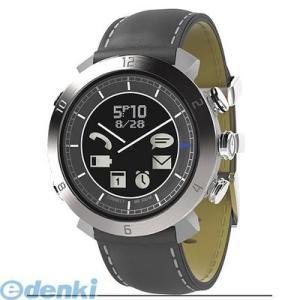 CONNECTEDEVICE  4562187616307 Bluetooth SMART対応アナログ腕時計 COGITO CLASSIC レザー/ナイロンバンド レザー:グレー|edenki