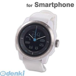 CONNECTEDEVICE  4562187616352 Bluetooth SMART対応アナログ腕時計 COOKOO2 ホワイト|edenki