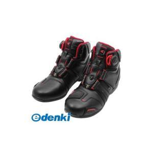 RSタイチ  4997035616442 RSS006 DRYMASTER BOA ライディングシューズ BLACK/RED 26.5|edenki