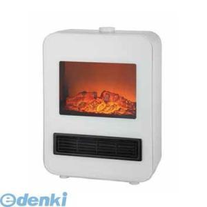 テクノス TEKNOS TD-S1200(W) 電気式暖炉セラミックファンヒーター ホワイト TDS1200(W)|edenki