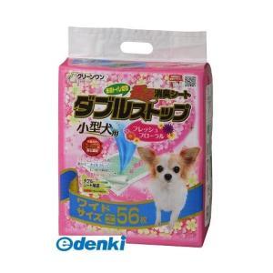 シーズイシハラ  4990968111886 クリーンワン香る消臭シートダブルストップ小型犬用フロー...
