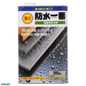 日本特殊塗料  4935185016316 浸透性防水剤 強力防水一番 900ml 透明