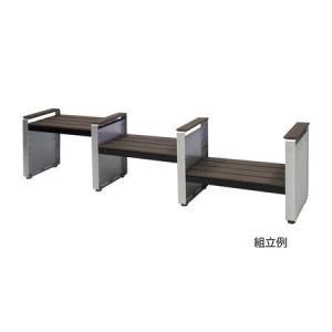 ミヅシマ工業  2450100 ステップベンチ 背無 1860X310H460mm edenki