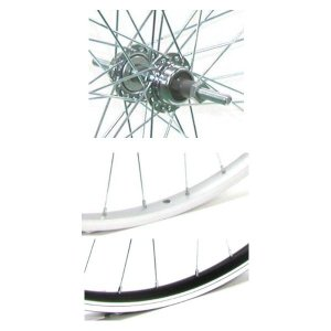 4938915704477 アサヒサイクル アルミリム後輪 外装用 ボス/キャリパーブレーキ仕様 タイヤチューブ無 26x1.50 HLQ−10A|edenki