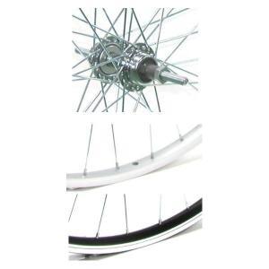 4938915706877 アサヒサイクル アルミリム後輪 外装用 ボス/キャリパーブレーキ仕様 タイヤチューブ無 20x1.50 6段/キャリパー仕様 HLQ−10A|edenki