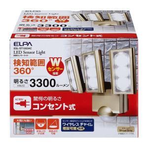 朝日電器 ELPA  ESL-ST1203AC AC センサーライト ESLST1203AC|edenki