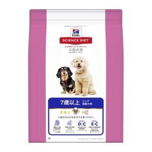 日本ヒルズ・コルゲート  0052742008431 サイエンス・ダイエット シニア 小型犬用 高齢犬用 7歳以上 3kg|edenki