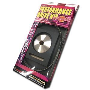 グロンドマン GRONDEMENT  CVT-021 パフォーマンスドライブキット【プーリー/ベルト】/ギア【4KN】 CVT021 edenki