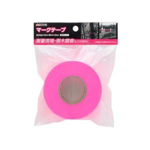 高儀 1265810 TKG マークテープ蛍光ピンク 30mm×50m