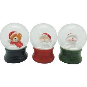 4988441810265 スノードーム メリークリスマス S/3 400818900【キャンセル不可】 丸和貿易の画像