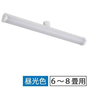 オーム電機 06-1684 縦型LEDシーリングライト(6〜8畳用/40W/昼光色) LE−Y40D8G−TB 061684 edenki