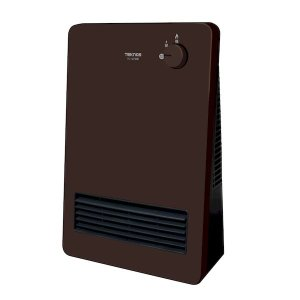 在庫 テクノス TEKNOS TS-127(DB) セラミックヒーター 1200W 600W TS127(DB) あすつく対応|edenki
