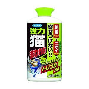 フマキラー 4902424439328 強力猫まわれ右粒剤グリーンの香り 900g|edenki