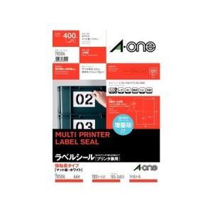 A-one エーワン 78504 ラベルシール強粘着A4 4面100S|edenki