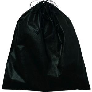 エーワン KW0003AR10 不織布インナー巾着M 黒 edenki