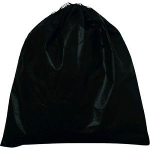 エーワン KW0004AR10 不織布インナー巾着L 黒 edenki