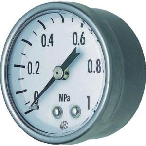 あすつく対応 長野計器 NKS GK25-161-0.2MP 小型圧力計 R1/8D枠・JIS準拠品 0〜0.2MPa GK251610.2MP|edenki