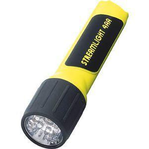 【在庫切れ】【納期未定】ストリームライト STREAMLIGHT 68201 プロポリマー4AA 7LED イエロー 電池付 68201|edenki