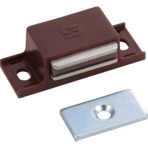 あすつく対応 TRUSCO TSM-10P-BR マグネットキャッチPP樹脂 TSM10PBR 300-5135|edenki