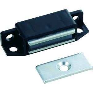 あすつく対応 TRUSCO TSM-111-BK マグネットキャッチPP樹脂 TSM111BK 300-5151|edenki
