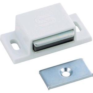あすつく対応 TRUSCO TSM-41-W マグネットキャッチPP樹脂 TSM41W 302-0673|edenki