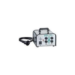 ハタヤ HATAYA LV-03CS ミニトランスル 降圧型 単相200V→100・115V 3.0KVA LV03CS 370-3690|edenki