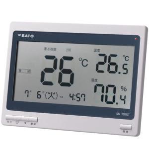 あすつく対応 佐藤計量器製作所 SATO SK-160GT 熱中症暑さ指数計 熱中症計|edenki