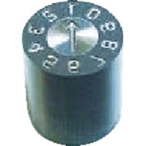 あすつく対応 浦谷 [OP-D1-8] 金型デートマークD1型 8mm OPD18 381-9035|edenki