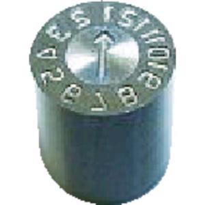 あすつく対応 浦谷 [OP-OM-16] 金型デートマークOM型 16mm OPOM16 381-9132|edenki
